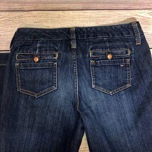 Dark Wash Wide-Leg Jeans